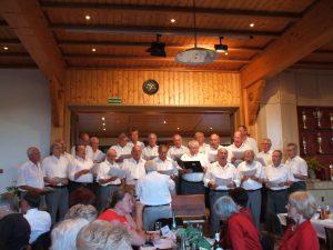 Die Chorgemeinschaft Niedernhausen-Niederseelbach zu Gast in Kettenbach